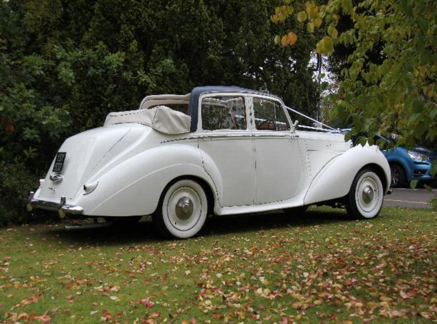 Classic Convertible Bentley Wedding Car Hire In Horsham West Sussex